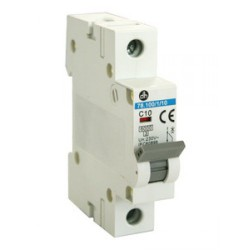 Interruptor magnetotermic 1P 10amp (MCB)
